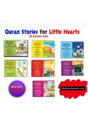 Quran Stories for Little Hearts Gift Box- 1/2/3/4/5/6/7 (6 SOFTCOVER BOOKS)
