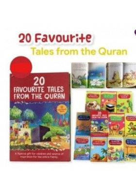 20 Favourite Tales from the Quran Gift Box (Ten Hard Bound Books)