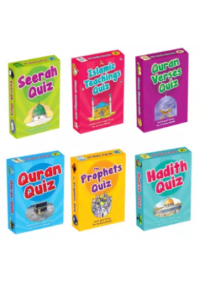 Islamic Quiz Cards (1 Set)